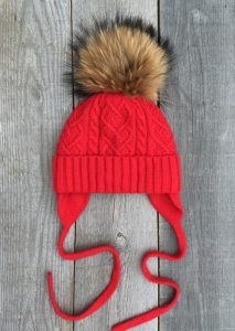 детская шапочка с отворотом 022