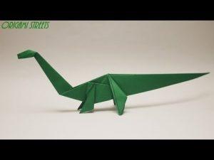 динозавр из картона своими руками 019