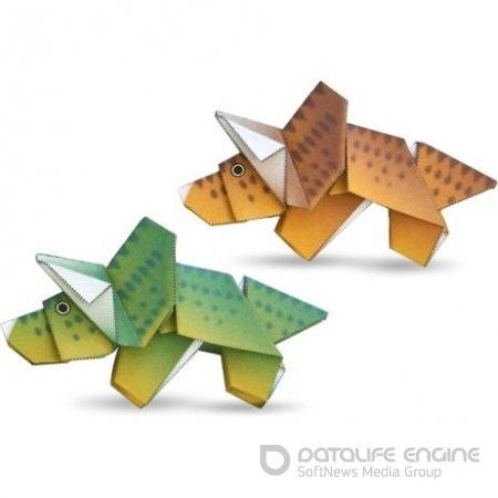 динозавр своими руками из картона 018