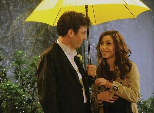 желтый зонтик как я встретил вашу маму 011