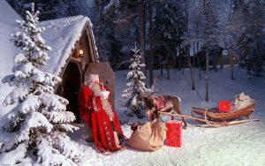 зима и новый год картинки красивые 019