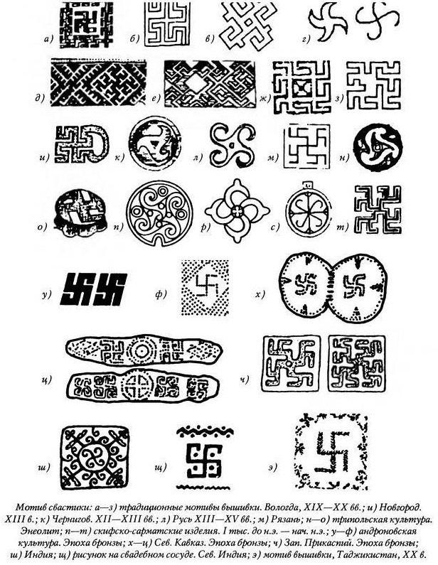 калмыцкий орнамент рисунок 002