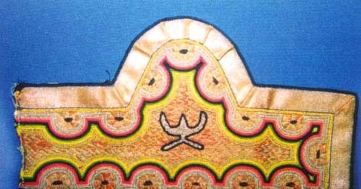 калмыцкий орнамент рисунок 003