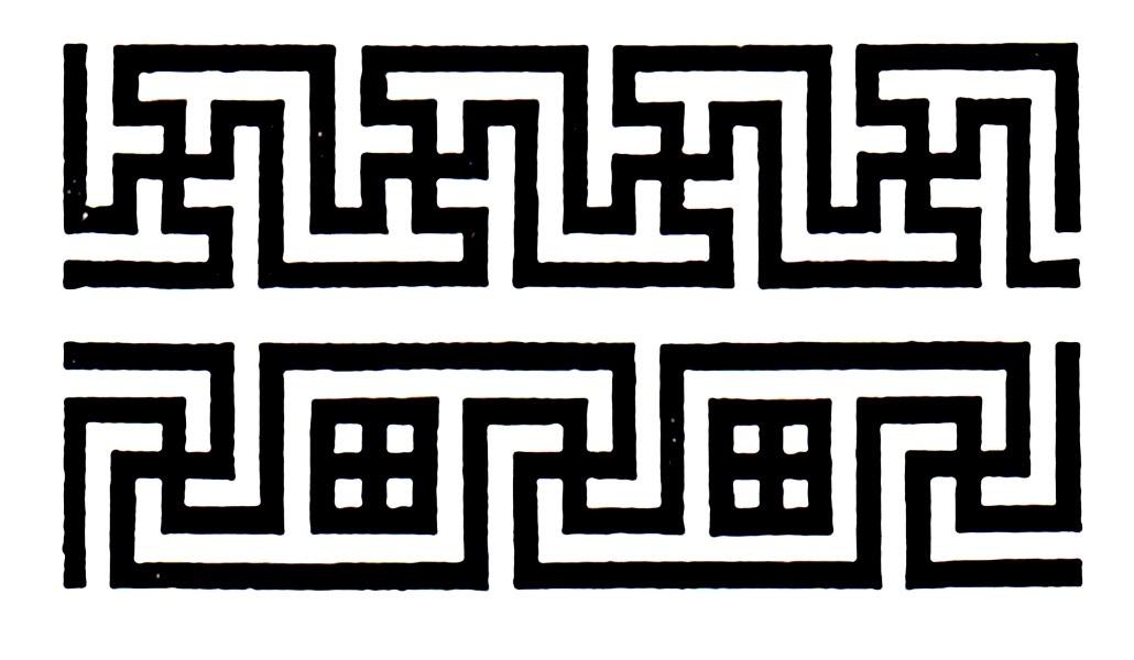 калмыцкий орнамент рисунок 009