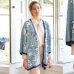 Кардиган кимоно спицами — прикольные картинки