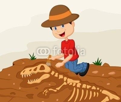 картинка археолога для детей 024