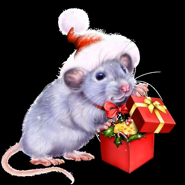 картинка новый год крысы 2020 024