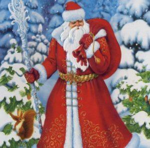 картинки дед мороз новый год 020