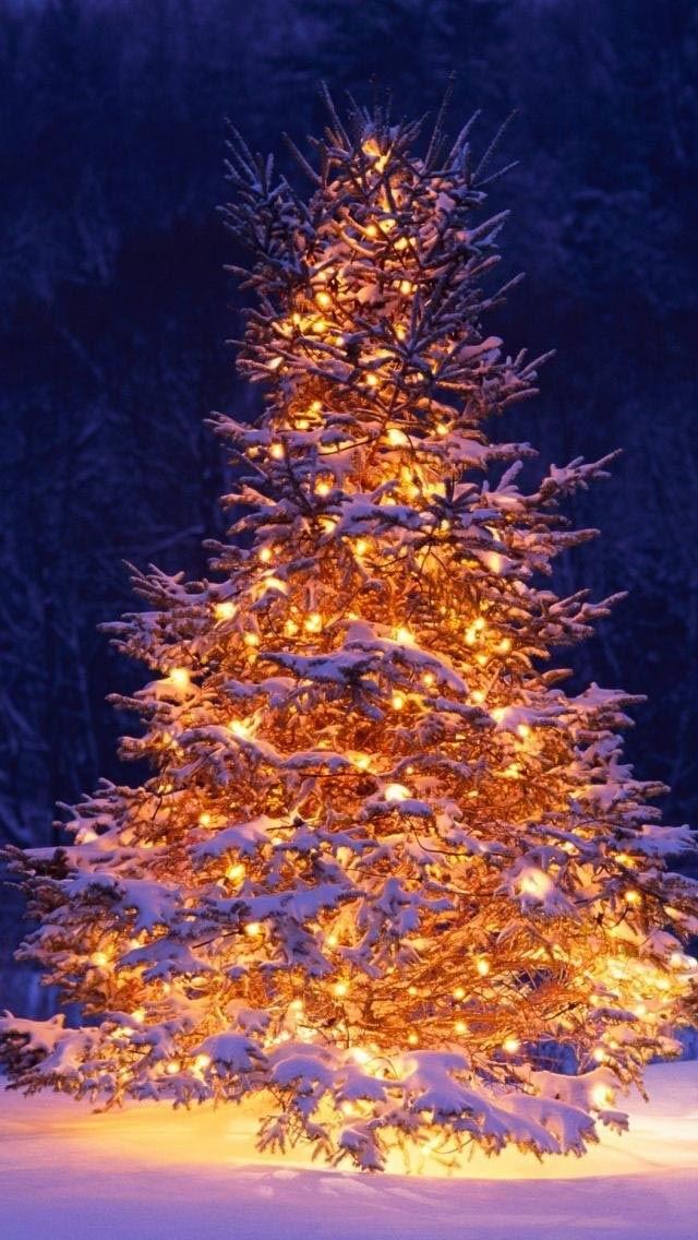 картинки зима новый год на телефон 016