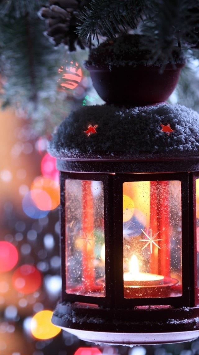 картинки зима новый год на телефон 018