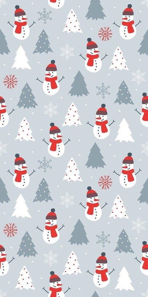 картинки зима новый год на телефон 021