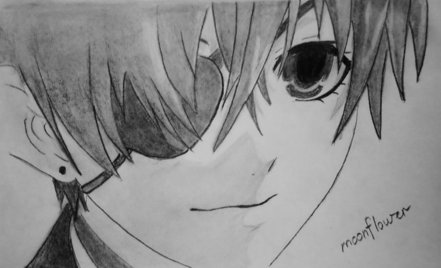 картинки карандашом темный дворецкий 016