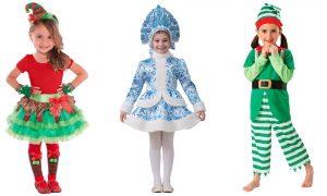 картинки костюмы для девочек на новый год 024