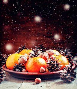 картинки мандарины новый год 020