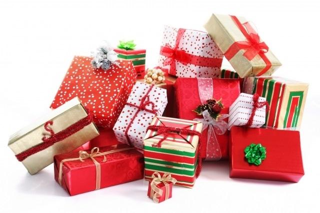 картинки на новый год подарков 002