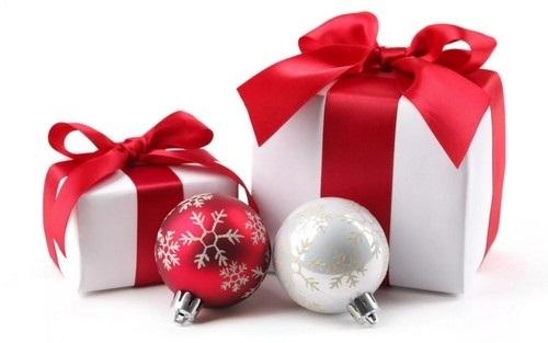 картинки на новый год подарков 007
