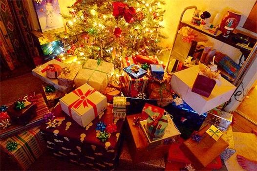 картинки на новый год подарков 008