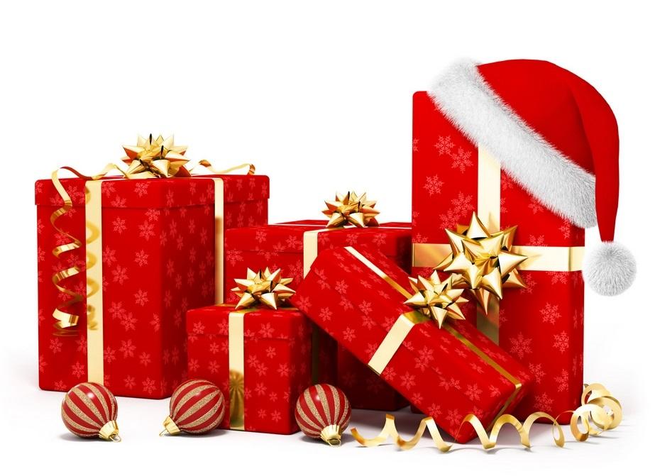картинки на новый год подарков 011