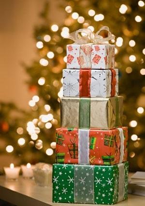 картинки на новый год подарков 016
