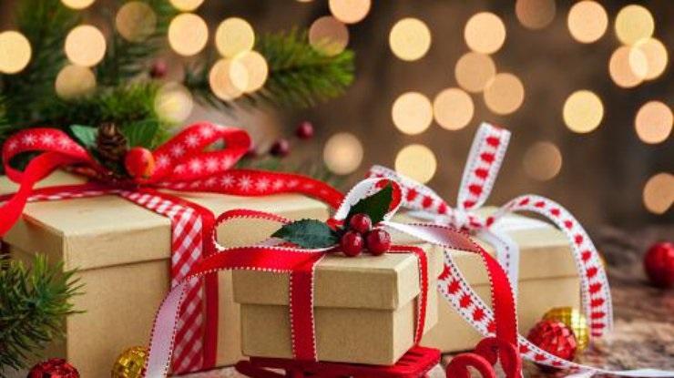 картинки на новый год подарков 019