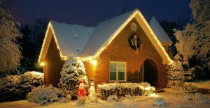 картинки новый год в загородном доме 021
