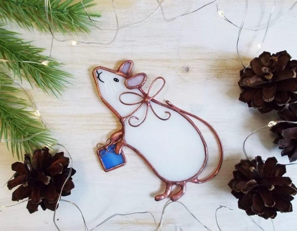 картинки новый год крысенка 020