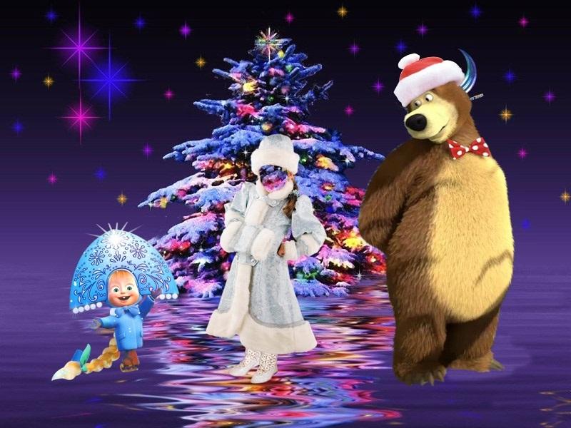 Новогодние поздравления для детей в мультиках