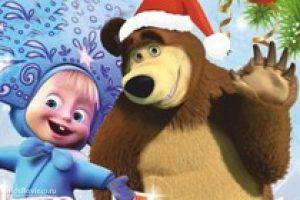 картинки новый год маша и медведь 023