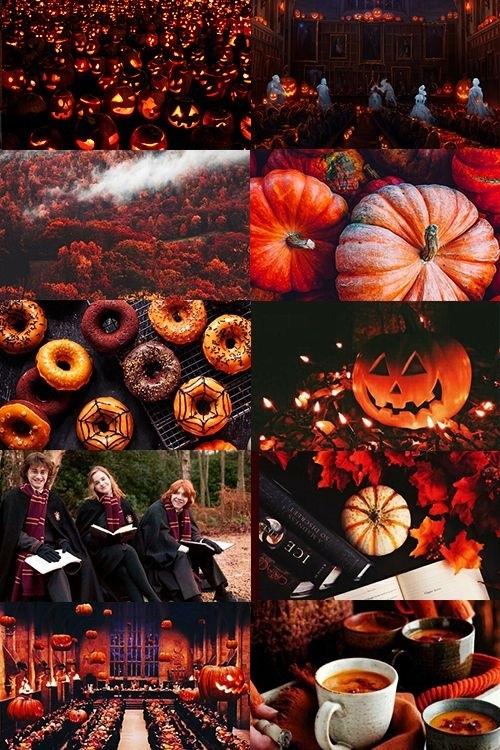 картинки осень хэллоуин 004