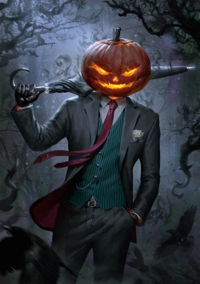 картинки осень хэллоуин 009
