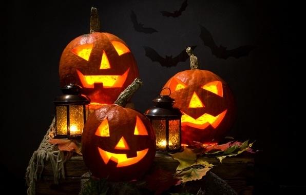 картинки осень хэллоуин 016