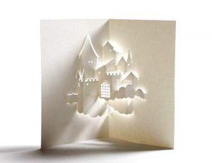 киригами новогодние шаблоны для вырезания 022