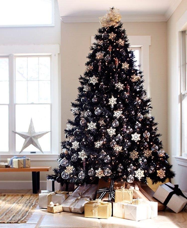 красивые елки рисунки на новый год 001