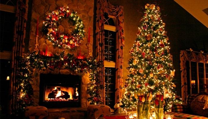 красивые елки рисунки на новый год 002