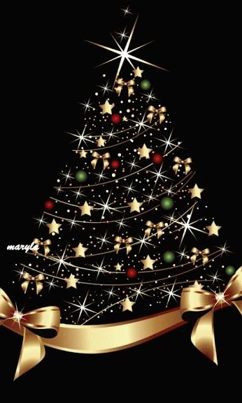 красивые елки рисунки на новый год 006