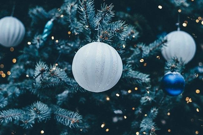 красивые елки рисунки на новый год 011
