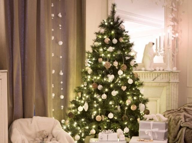 красивые елки рисунки на новый год 012