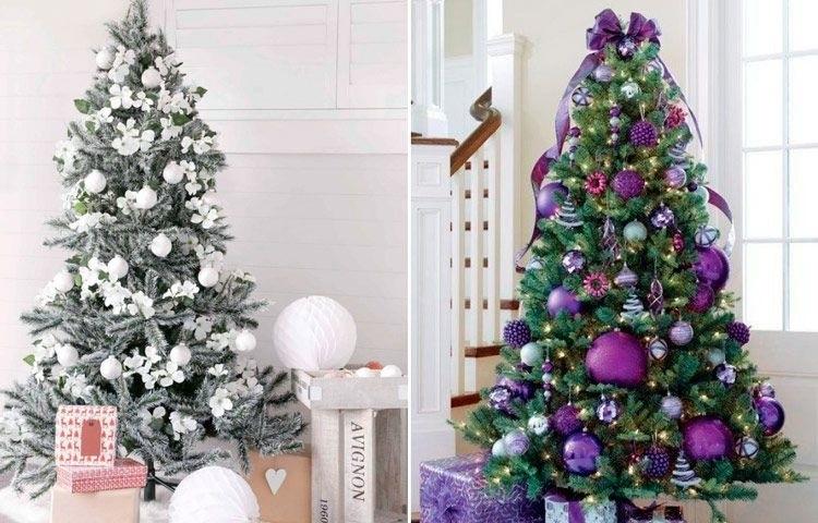 красивые елки рисунки на новый год 017