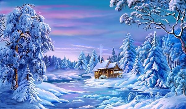 красивые картинки открытки на новый год 006