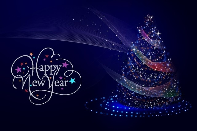 красивые картинки открытки на новый год 017