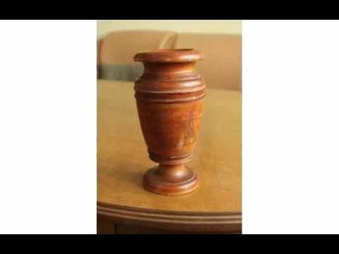 красивые токарные изделия из дерева 022