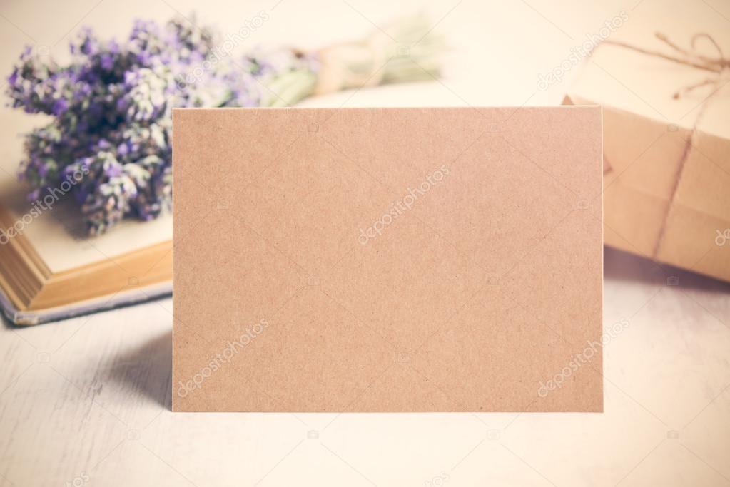 крафт открытка 010
