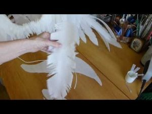 крылья из фоамирана 018