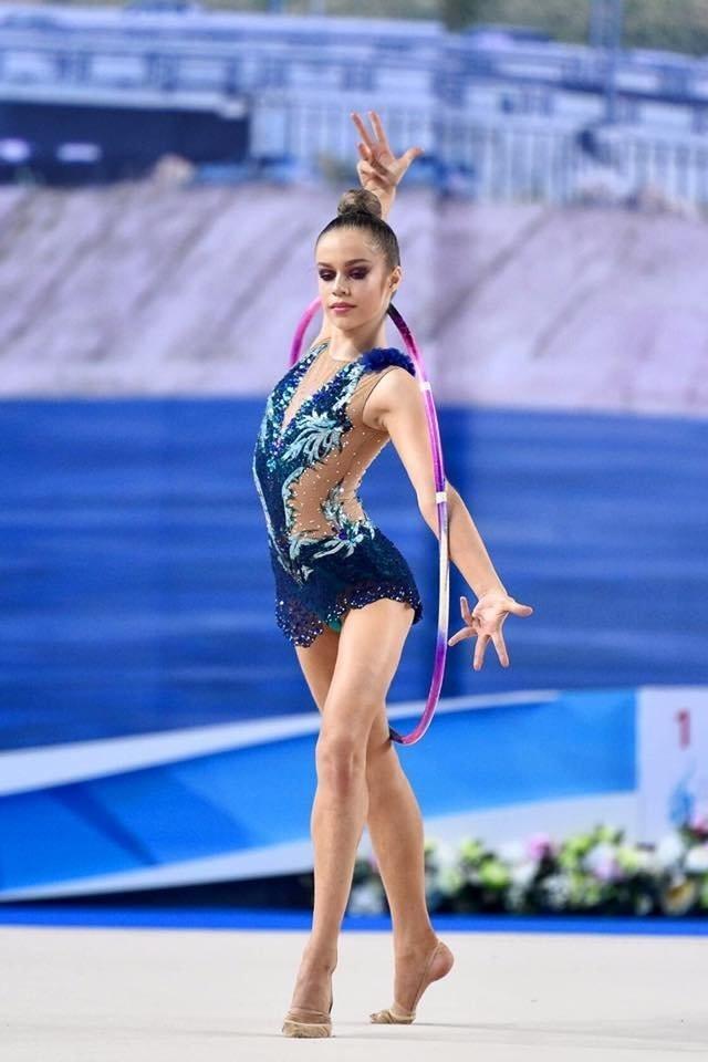 купальники для художественной гимнастики без юбки 005