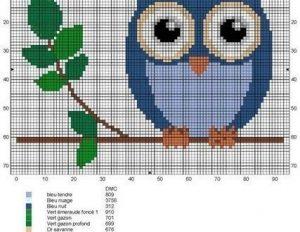 легкие рисунки для вышивания 022