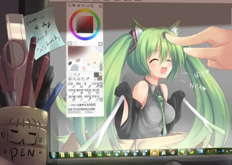 манекены аниме для рисования в саи 019