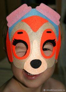 маски щенячий патруль своими руками 019