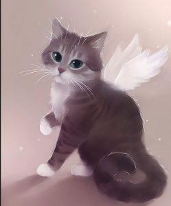 милые рисунки животных с аниме 024