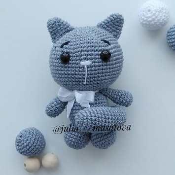 морской котик крючком 020
