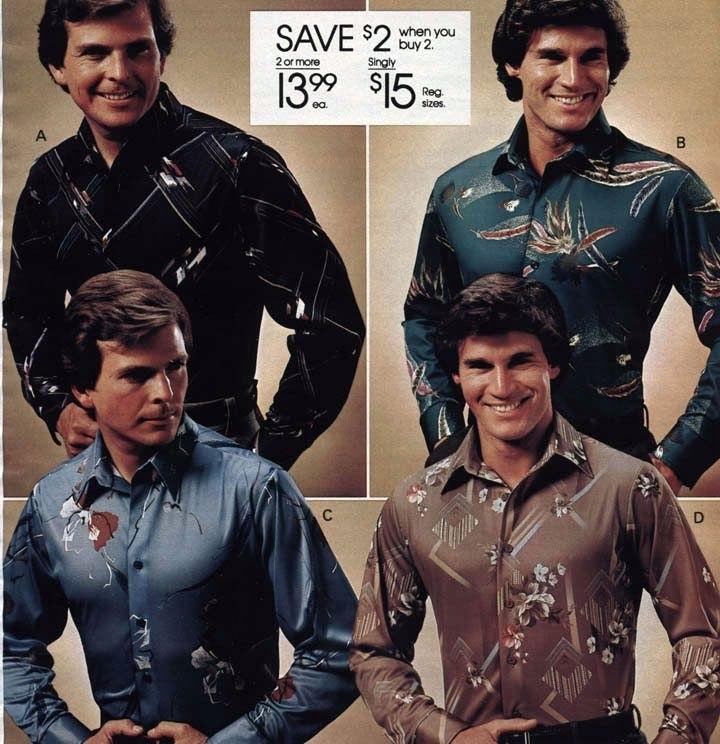 мужская мода в 80е 007